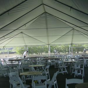 40′ x 40′ Tent (gable)