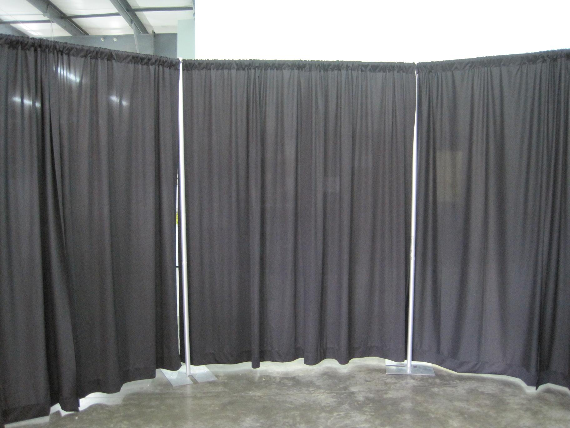 drape drapes chair tent event belleville and main table pipe rentals